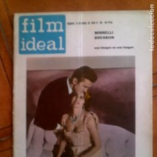 Cine: REVISTA FILM IDEAL N,118 DE 1963. Lote 139695862