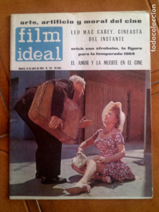 REVISTA FILM IDEAL N,142 DE 1964 (Cine - Revistas - Film Ideal)