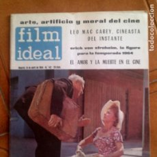 Cine: REVISTA FILM IDEAL N,142 DE 1964. Lote 139695942