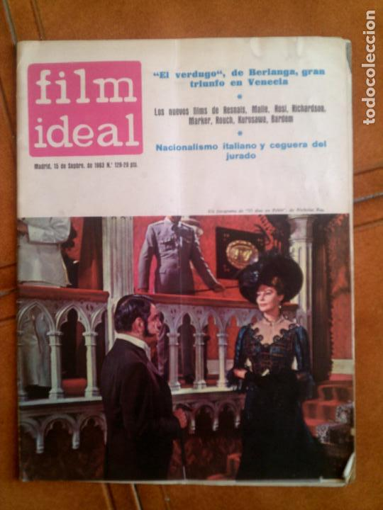 REVISTA FILM IDEAL N,128 DE 1963 (Cine - Revistas - Film Ideal)