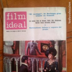 Cine: REVISTA FILM IDEAL N,128 DE 1963. Lote 139696090