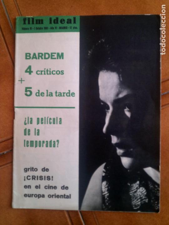 REVISTA FILM IDEAL N,81 DE 1961 (Cine - Revistas - Film Ideal)