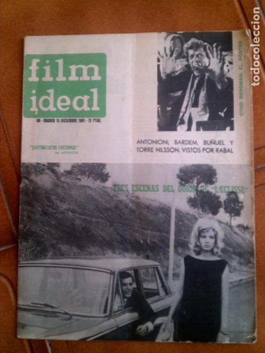 REVISTA FILM IDEAL N,86 DE 1961 (Cine - Revistas - Film Ideal)