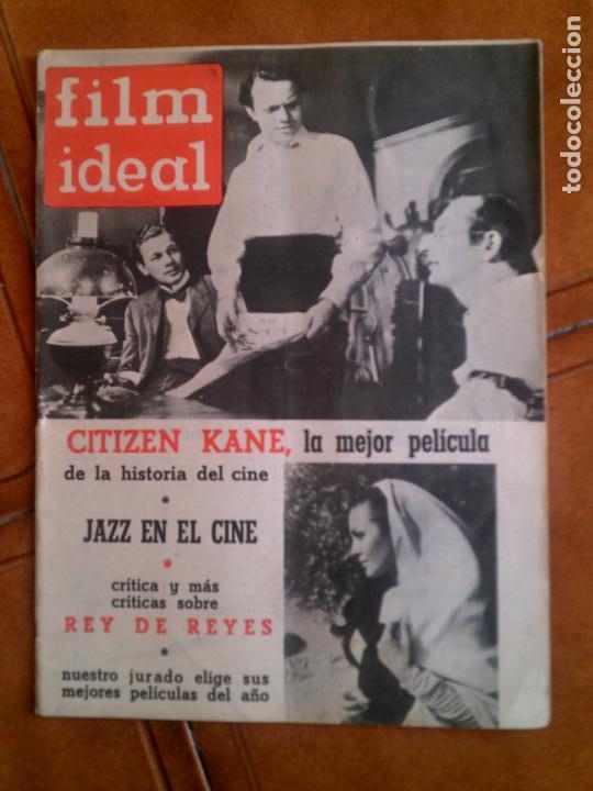REVISTA FILM IDEAL N,89 DE 1962 (Cine - Revistas - Film Ideal)