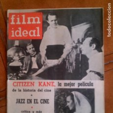 Cine: REVISTA FILM IDEAL N,89 DE 1962. Lote 139696642