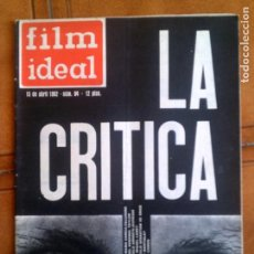 Cine: REVISTA FILM IDEAL N,94 DE 1962. Lote 139696802