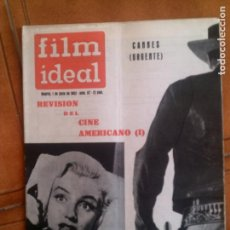 Cinema: REVISTA FILM IDEAL N,97 DE 1962. Lote 139696874