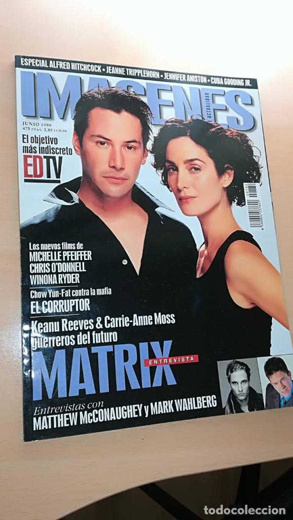 REVISTA IMAGENES DE ACTUALIDAD 182 (JUNIO 99) INDICE EN FOTOS ESPECIAL MATRIX JENNIFER ANISTON (Cine - Revistas - Imágenes de la actualidad)