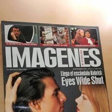 Cine: REVISTA IMAGENES DE ACTUALIDAD 184 (SEPT 99) INDICE EN FOTOS EYES WIDE SHUT AUSTIN POWERS BROSNAN. Lote 139702806