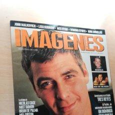 Cine: REVISTA IMAGENES DE ACTUALIDAD 190 (MARZO 2000) INDICE EN FOTOS CLOONEY MAGNOLIA MALKOVICH. Lote 139705770
