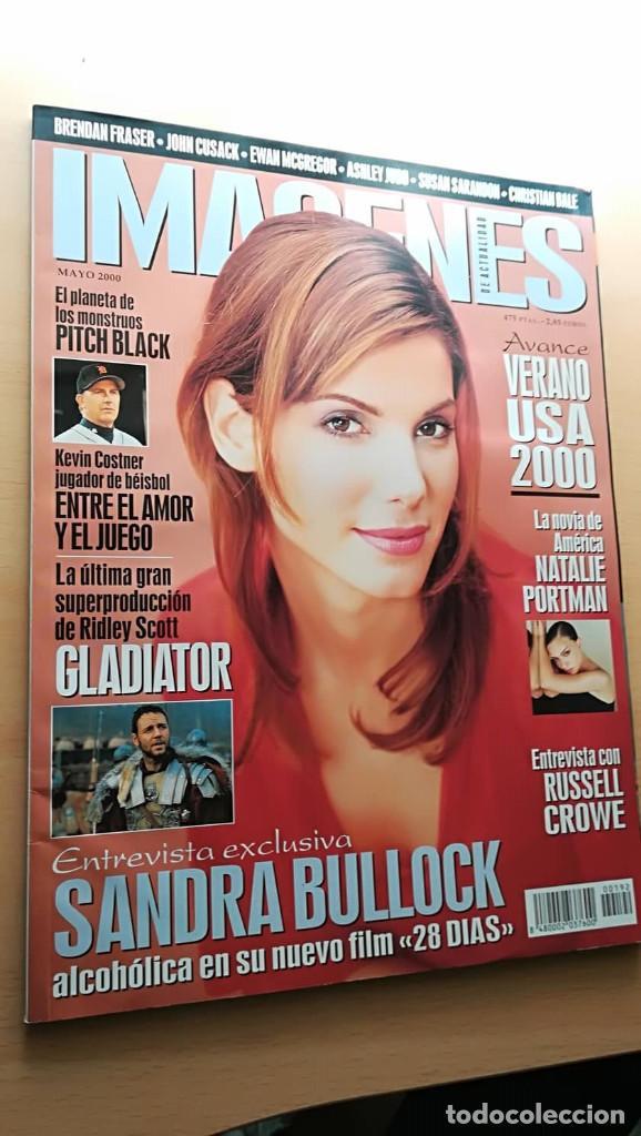 REVISTA IMAGENES DE ACTUALIDAD 192 (MAYO 2000) INDICE EN FOTOS ESPECIAL GLADIATOR PITCH BLACK BULLOC (Cine - Revistas - Imágenes de la actualidad)