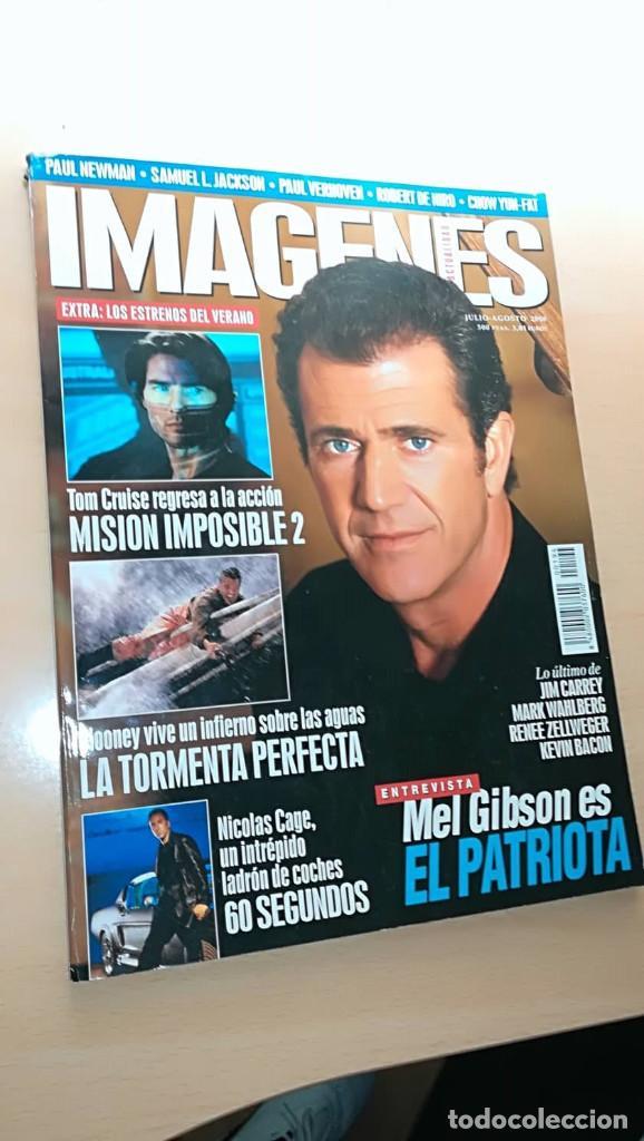 REVISTA IMAGENES DE ACTUALIDAD 194 (JUL 2000) INDICE EN FOTOS TORMENTA PERFECTA EL PATRIOTA (Cine - Revistas - Imágenes de la actualidad)