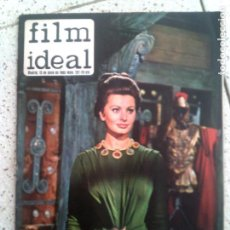 Cine: REVISTA FILM IDEAL N,122 DE 1963. Lote 139726682