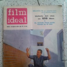 Cine: REVISTA FILM IDEAL N,125 DE 1963. Lote 139726766