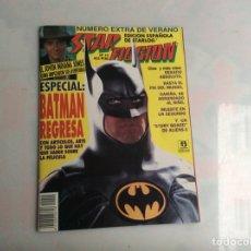 Cine: STAR FICCIÓN Nº 10 EXTRA DE VERANO - ESPECIAL BATMAN REGRESA. Lote 140433642