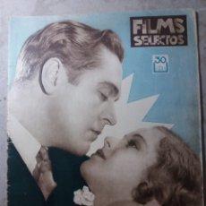 Cine: CINE FILMS SELECTOS 1932. Lote 140469838