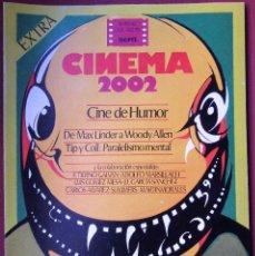 Cine: CINEMA 2002 NÚMERO 41-42 - EXTRA. Lote 140525458