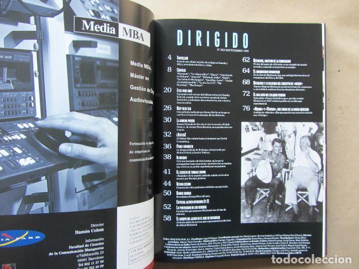 Cine: 11 revistas Dirigido Por... perfectamente encuadernadas año 1999. Sin uso aparente - Foto 4 - 140741190