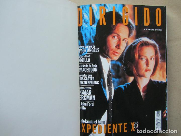 Cine: 11 revistas Dirigido Por... perfectamente encuadernadas año 1998. Sin uso aparente - Foto 3 - 140742026