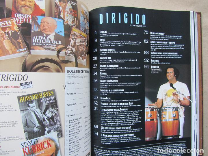 Cine: 6 revistas Dirigido Por... perfectamente encuadernadas año 2000. Sin uso aparente - Foto 4 - 140742378