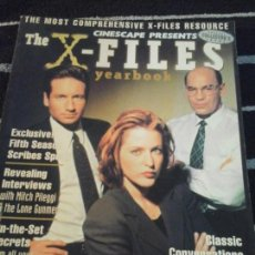 Cine: CINESCAPE N.13, PRESENT THE X-FILES , YEARBOOK . Lote 140775766