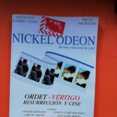 Cine: ORDER - VÉRTIGO, RESURRECCIÓN Y CINE - Nº 8 - OTOÑO 1997. Lote 140893190