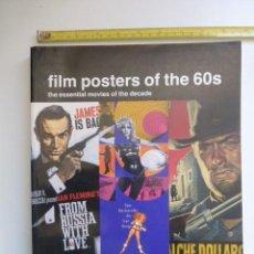 Cine: POSTERS DE PELICULAS DE LOS AÑOS 60. LO MEJOR DE LA DECADA DE LOS 60..PUBLICADO EN INGLATERRA. 1997. Lote 140932318