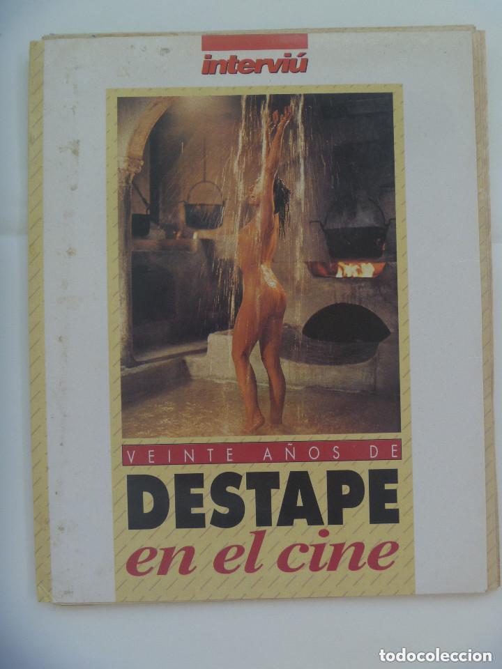 COLECCIONABLE DE INTERVIÚ : VEINTE AÑOS DE DESTAPE EN EL CINE (Cine - Revistas - Otros)