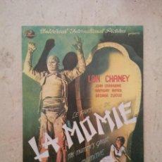 Cinema: REPRODUCCION PAPEL -10*15- EL FANTASMA DE LA MOMIA - MOMIAS - LON CHANEY - TERROR. Lote 141613986