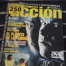 Cine: ACCIÓN N. 112 AÑO 10, SIN POSTER, ALGUNAS FICHAS ESTÁN RECORTADAS. Lote 141756614