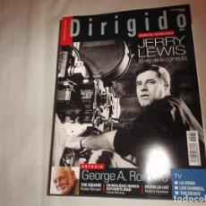 Cine: DIRIGIDO POR EXTRA Nº 482, DOSSIER/ ENTREVISTA JERRY LEWIS EL REY DE LA COMEDIA, GEORGE A. ROMERO. Lote 141758974
