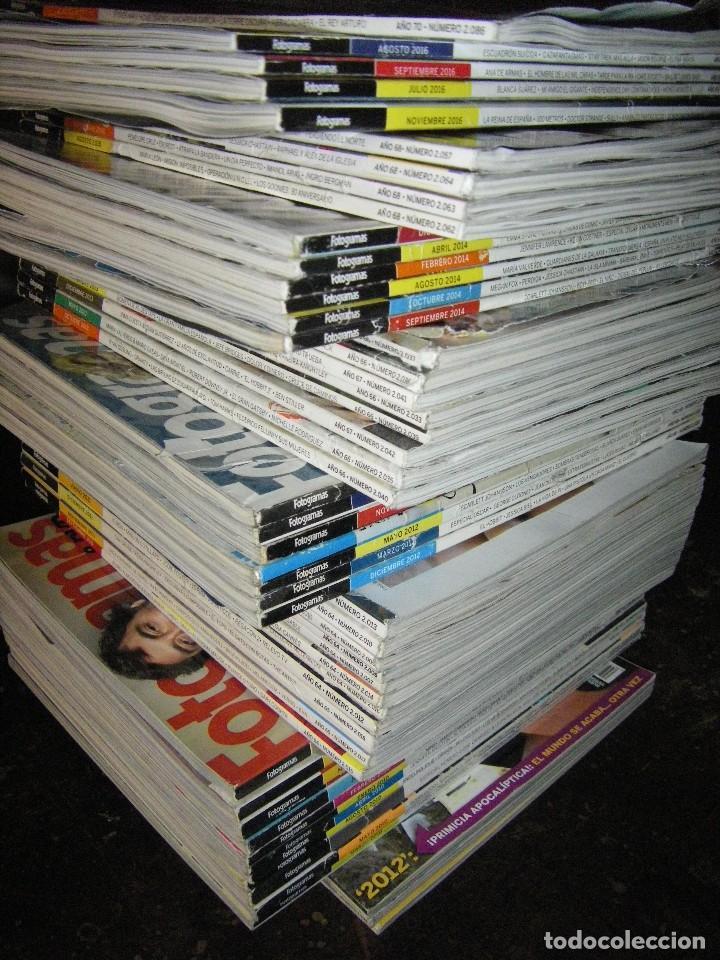 Cine: enorme lote de la revista FOTOGRAMAS + de 50 números incluye especial número 2000 - Foto 2 - 141901222