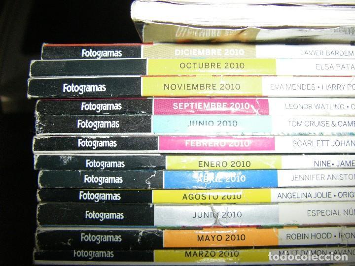 Cine: enorme lote de la revista FOTOGRAMAS + de 50 números incluye especial número 2000 - Foto 4 - 141901222
