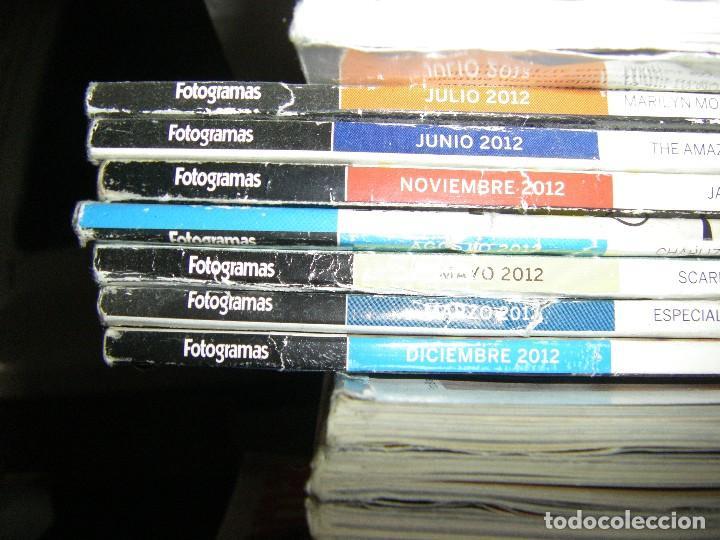Cine: enorme lote de la revista FOTOGRAMAS + de 50 números incluye especial número 2000 - Foto 5 - 141901222
