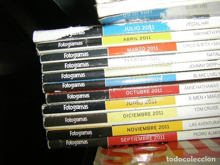 Cine: enorme lote de la revista FOTOGRAMAS + de 50 números incluye especial número 2000 - Foto 9 - 141901222