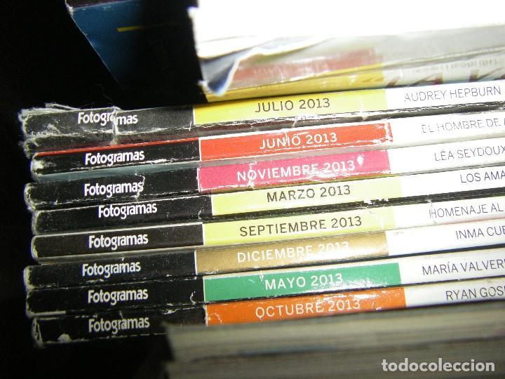 Cine: enorme lote de la revista FOTOGRAMAS + de 50 números incluye especial número 2000 - Foto 10 - 141901222
