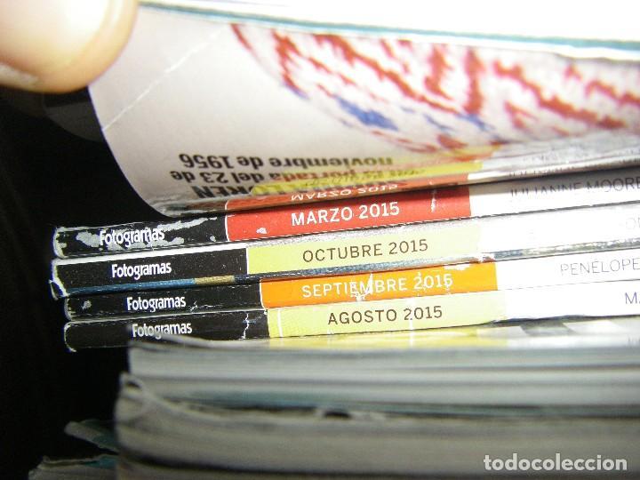 Cine: enorme lote de la revista FOTOGRAMAS + de 50 números incluye especial número 2000 - Foto 11 - 141901222