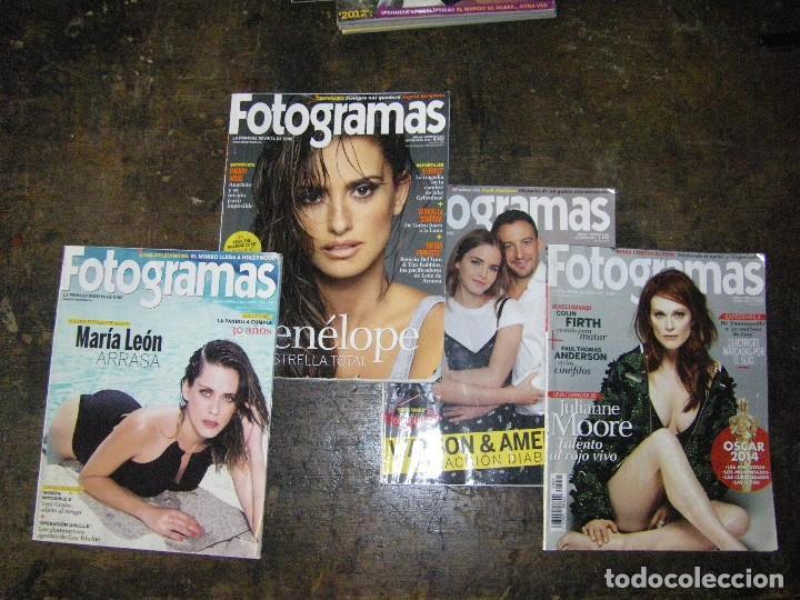 Cine: enorme lote de la revista FOTOGRAMAS + de 50 números incluye especial número 2000 - Foto 17 - 141901222