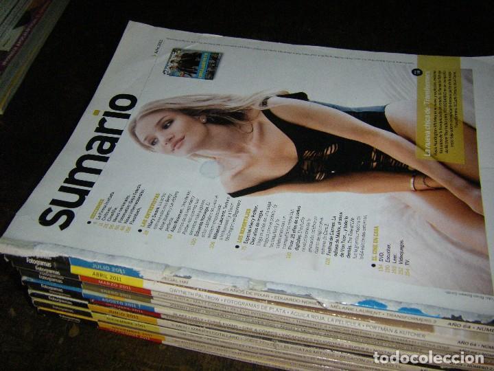 Cine: enorme lote de la revista FOTOGRAMAS + de 50 números incluye especial número 2000 - Foto 25 - 141901222