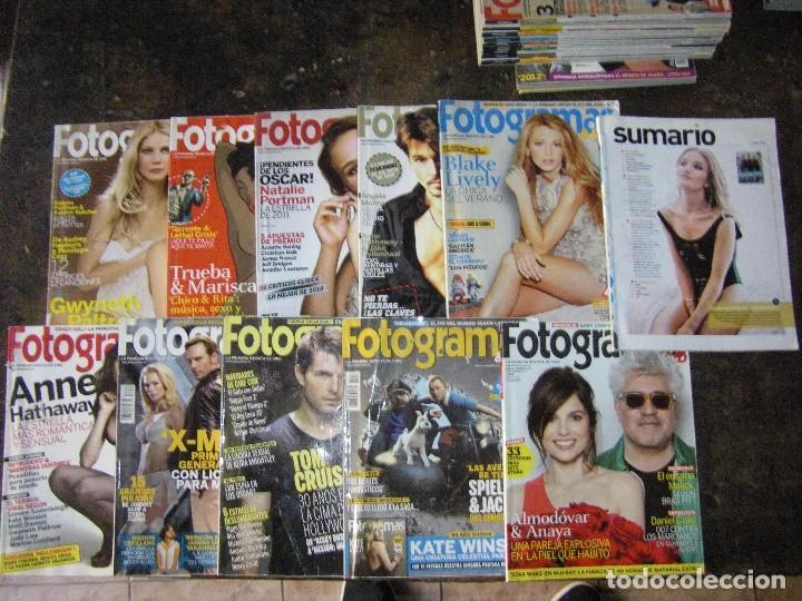Cine: enorme lote de la revista FOTOGRAMAS + de 50 números incluye especial número 2000 - Foto 26 - 141901222
