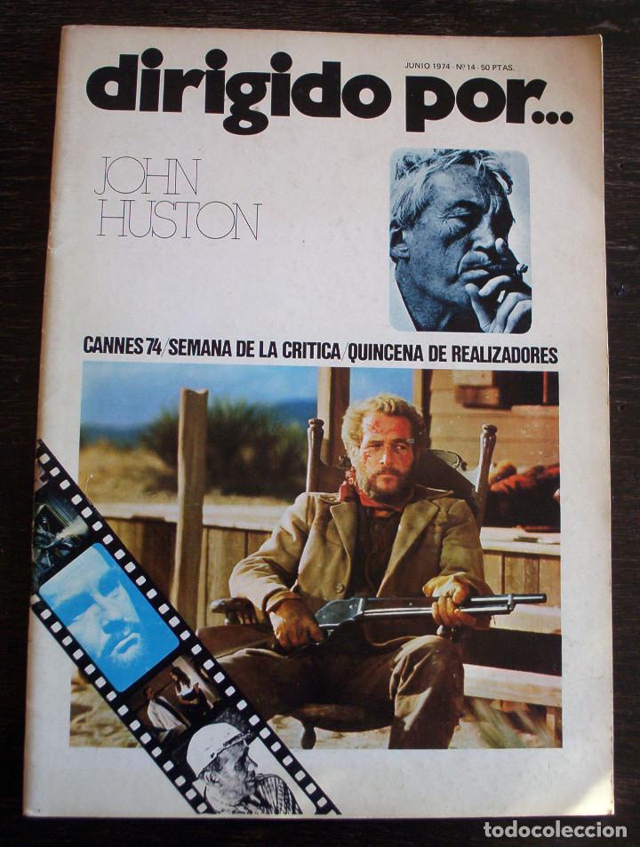 DIRIGIDO POR... - Nº 14 - AÑO 1974 - MUY BUEN ESTADO (Cine - Revistas - Dirigido por)