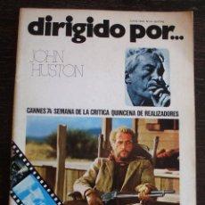 Cine: DIRIGIDO POR... - Nº 14 - AÑO 1974 - MUY BUEN ESTADO. Lote 142107506
