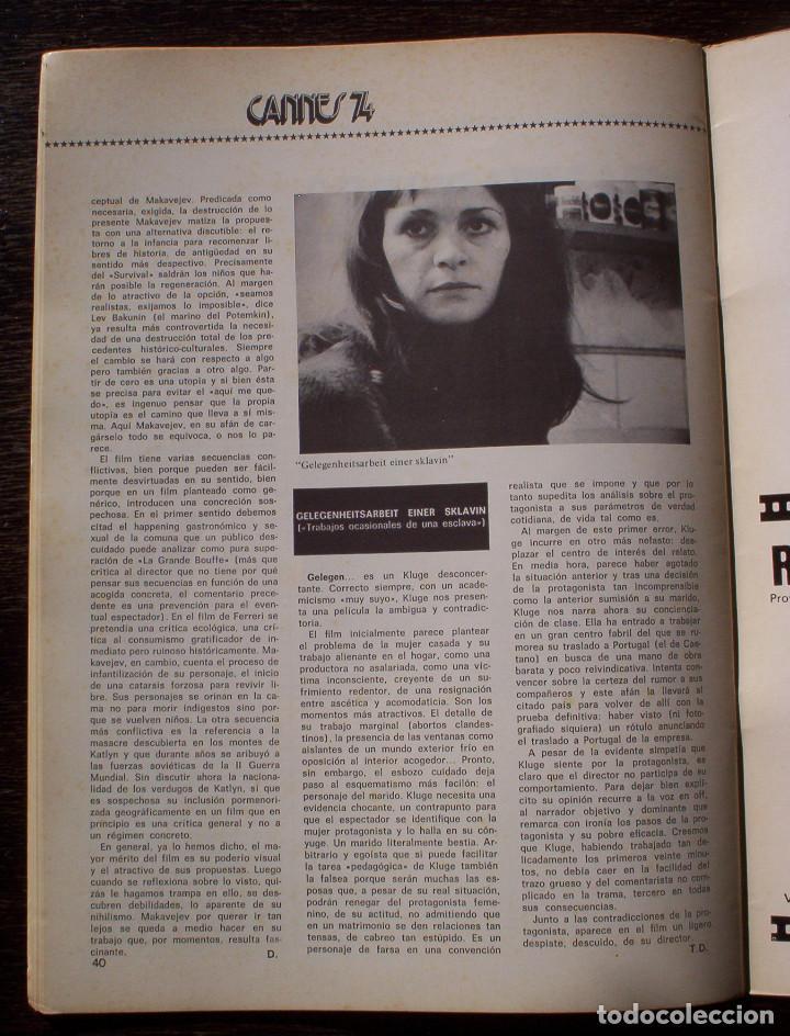 Cine: DIRIGIDO POR... - Nº 14 - AÑO 1974 - MUY BUEN ESTADO - Foto 8 - 142107506