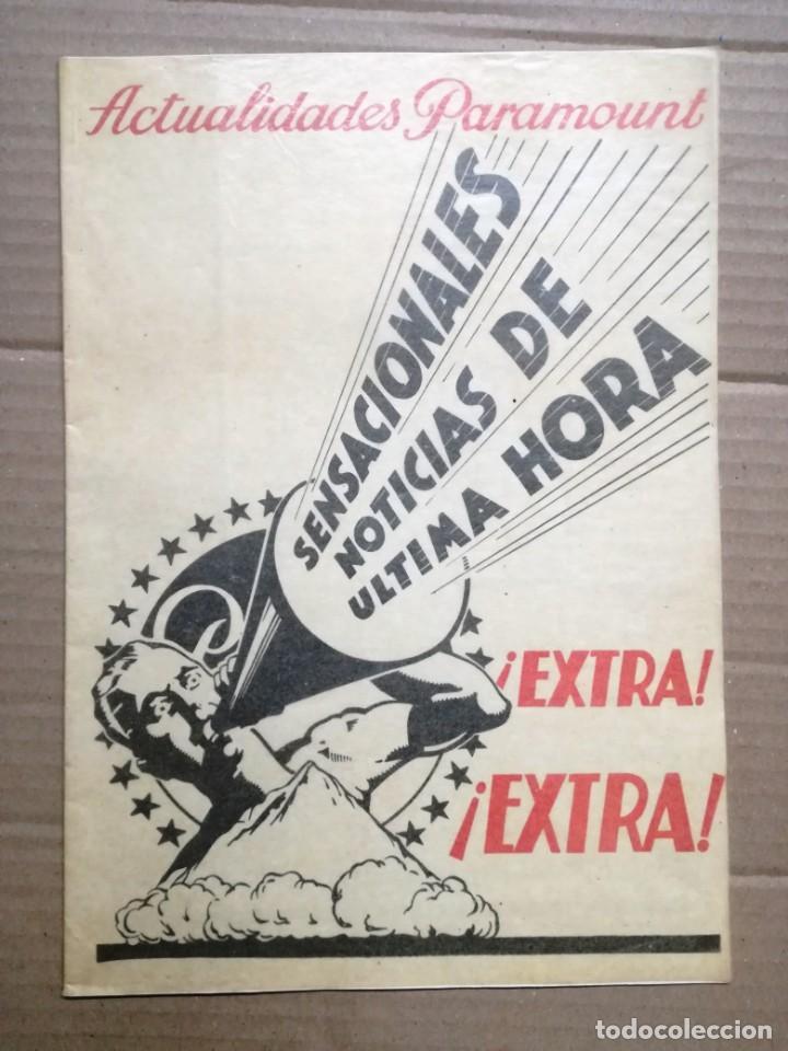 ACTUALIDADES PARAMOUNT.REVISTA DE CINE JUNIO 1936 Nº 9. VER FOTOS (Cine - Revistas - Otros)