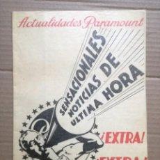 Cine: ACTUALIDADES PARAMOUNT.REVISTA DE CINE JUNIO 1936 Nº 9. VER FOTOS . Lote 142143910