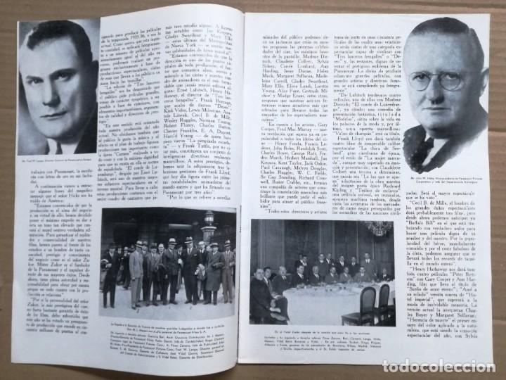 Cine: ACTUALIDADES PARAMOUNT.REVISTA DE CINE JUNIO 1936 Nº 9. VER FOTOS - Foto 4 - 142143910