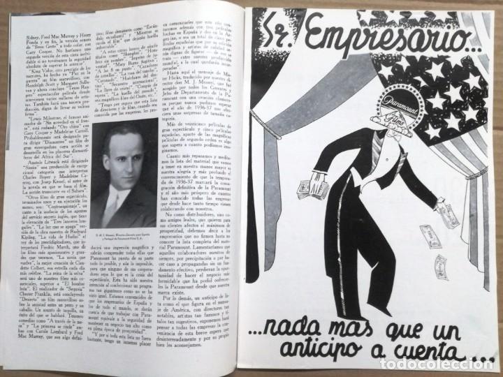 Cine: ACTUALIDADES PARAMOUNT.REVISTA DE CINE JUNIO 1936 Nº 9. VER FOTOS - Foto 5 - 142143910