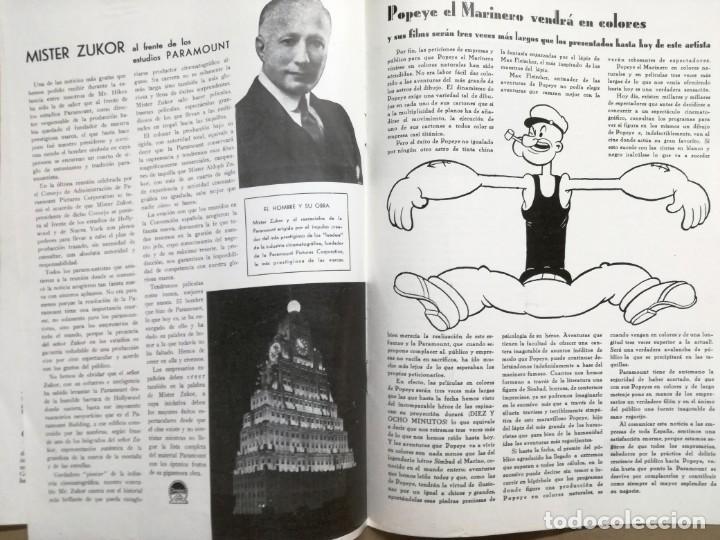 Cine: ACTUALIDADES PARAMOUNT.REVISTA DE CINE JUNIO 1936 Nº 9. VER FOTOS - Foto 7 - 142143910