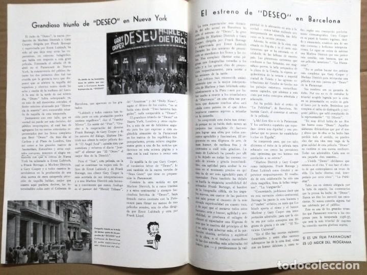 Cine: ACTUALIDADES PARAMOUNT.REVISTA DE CINE JUNIO 1936 Nº 9. VER FOTOS - Foto 8 - 142143910