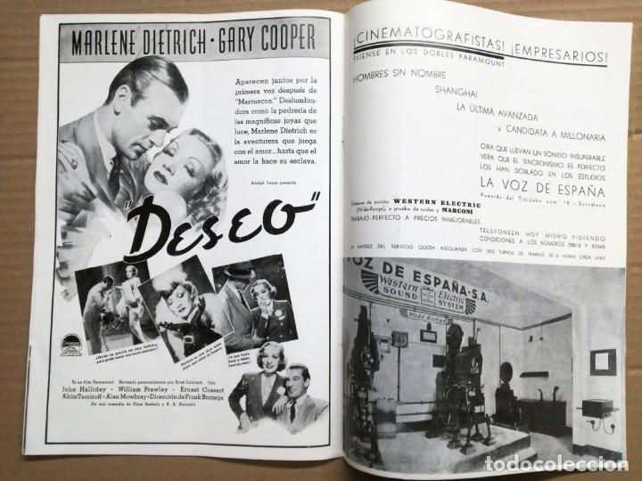 Cine: ACTUALIDADES PARAMOUNT.REVISTA DE CINE JUNIO 1936 Nº 9. VER FOTOS - Foto 9 - 142143910